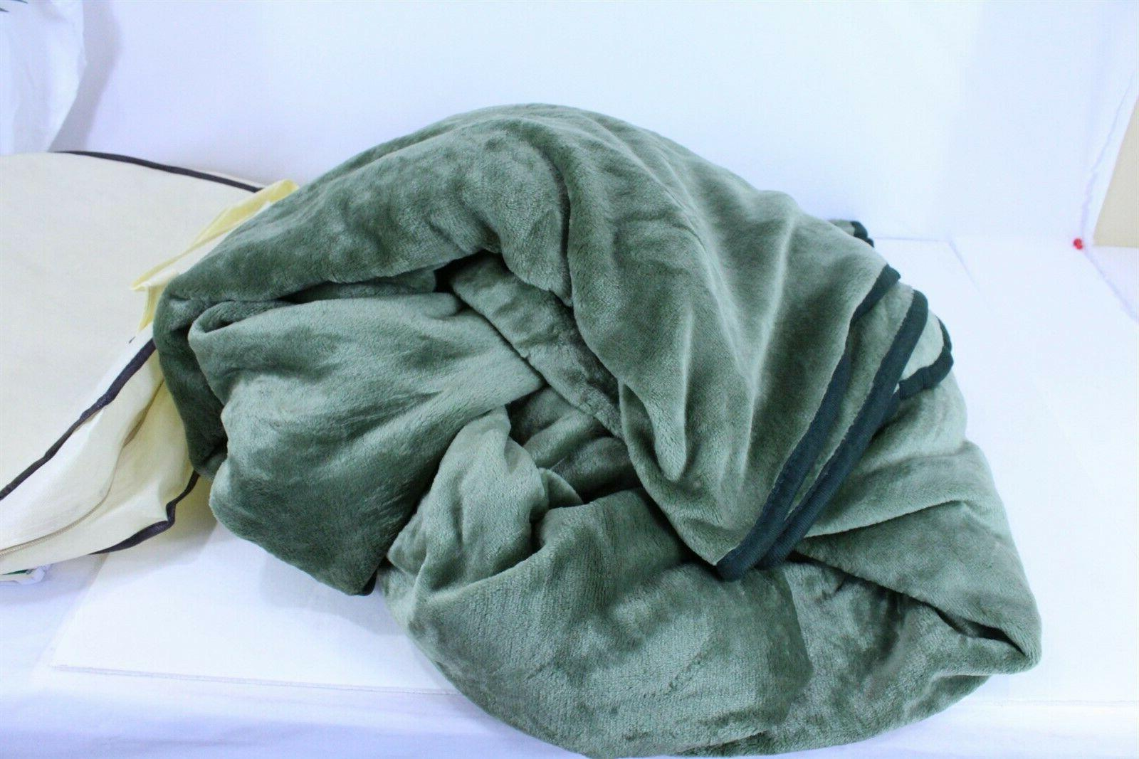 Polar Thermal Blanket Super Soft Green with