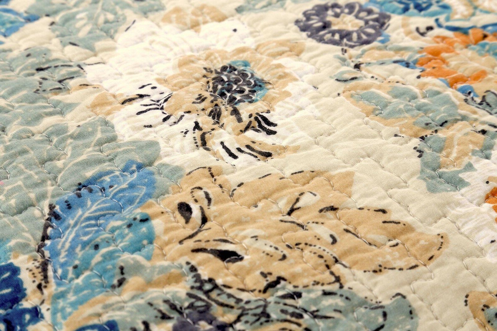 Pylle Hill 100%Cotton Bedspread,