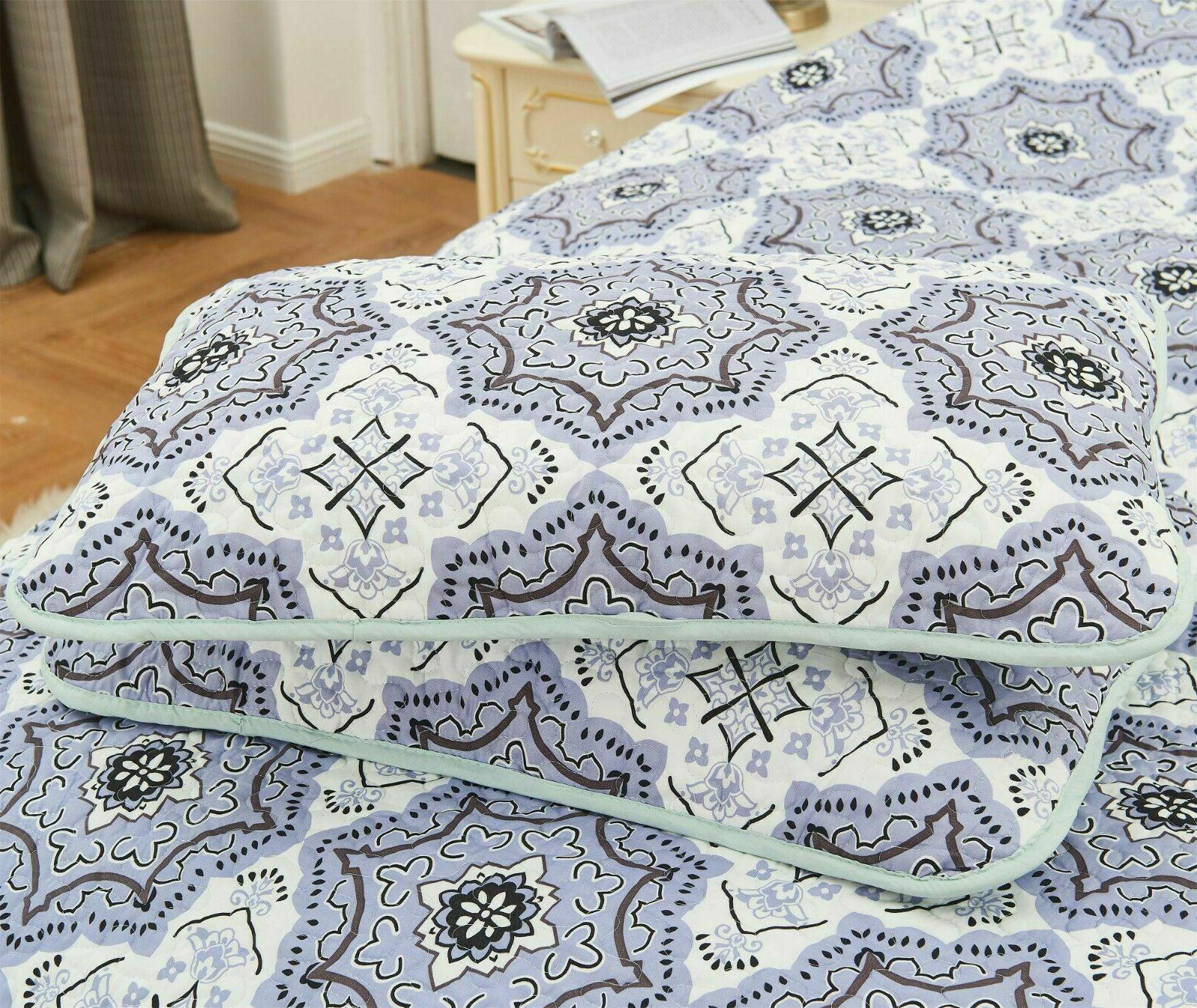 Queen Quilt Bedding Printed 4 Quilt