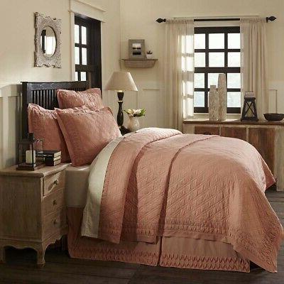 Farmhouse Bedding - Adelia Orange