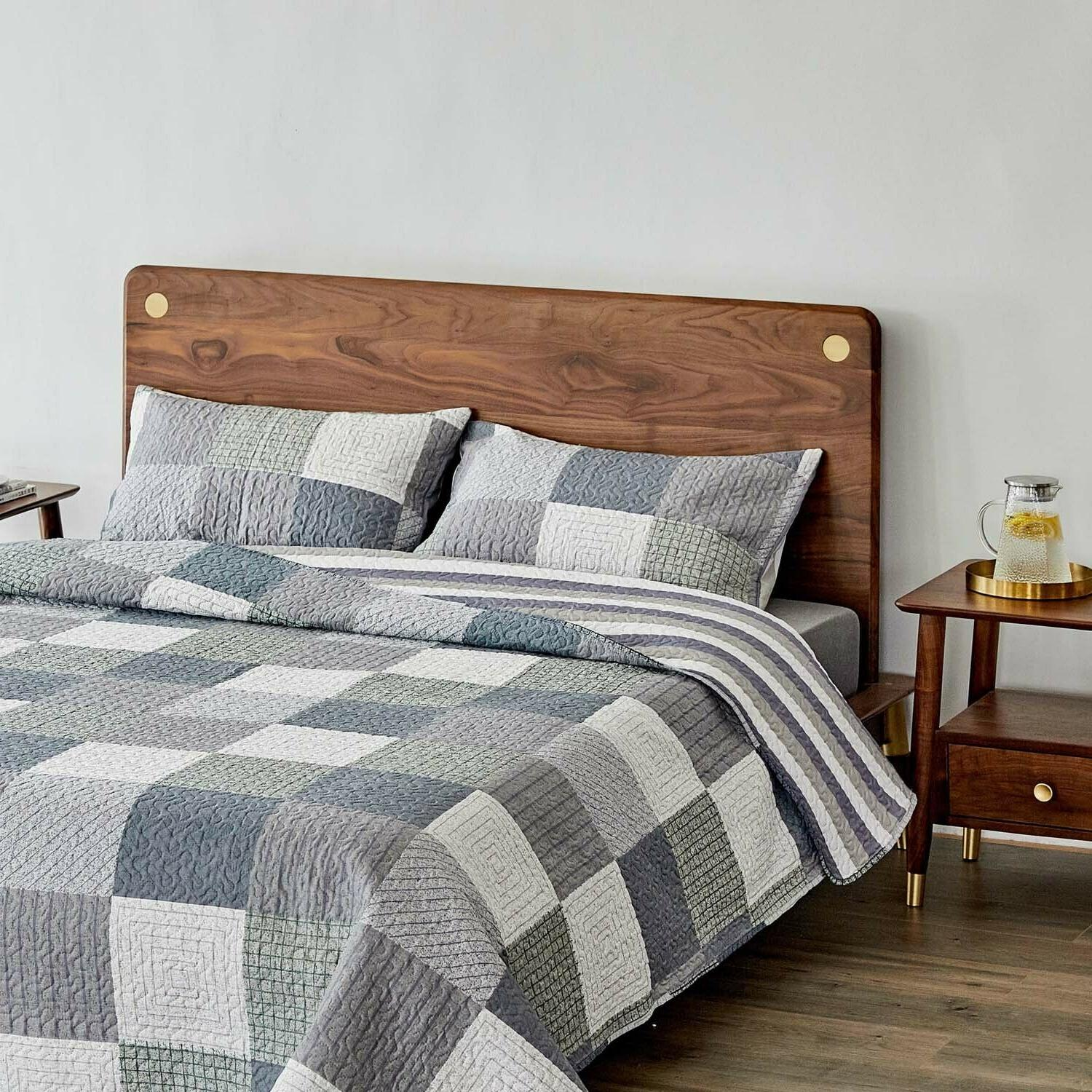 Quilt Cotton Soft Coverlet for All Season