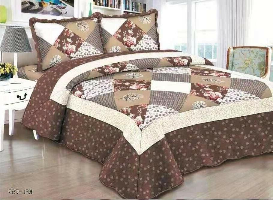 Quilted Comfort Bedspread Queen/King/Cal King