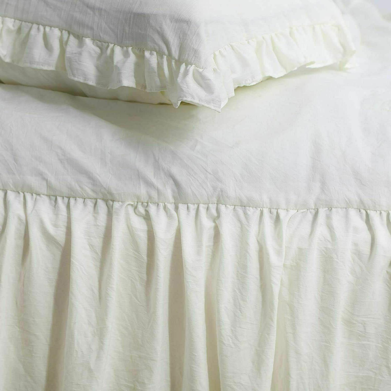 Ruffle Bedspread - Chic Farmhouse Lightweight Coverlet