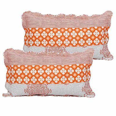 Serenta Piece Striped Cotton Bedspread