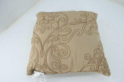Home Soft Damask 4 Piece Quilted Bedspread Set