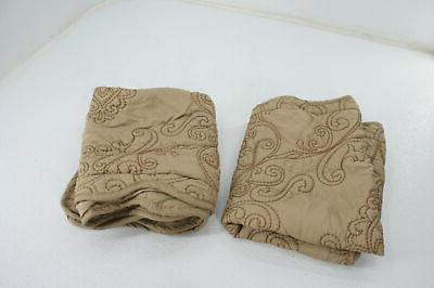 Home Soft Things Serenta Damask 4 Quilted Bedspread King