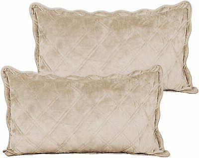 Serenta Super Quilted 4 Piece Bedspread Set,