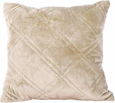 Serenta Soft Quilted Bedspread Set, King, Taupe