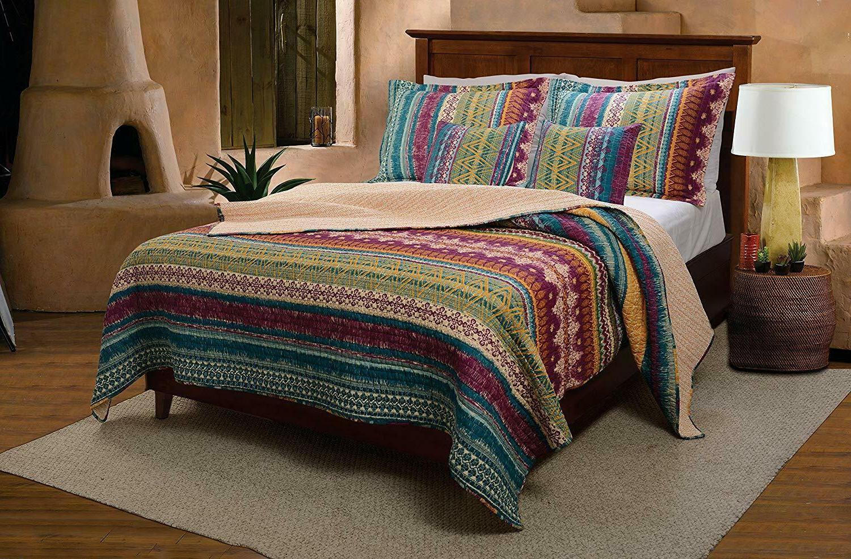 King California Bedding Southwest 3Pc 100% Cotton