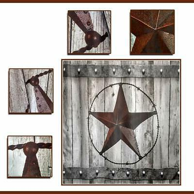 JAWO Texas and Mat Rustic Door with Southwestern Star