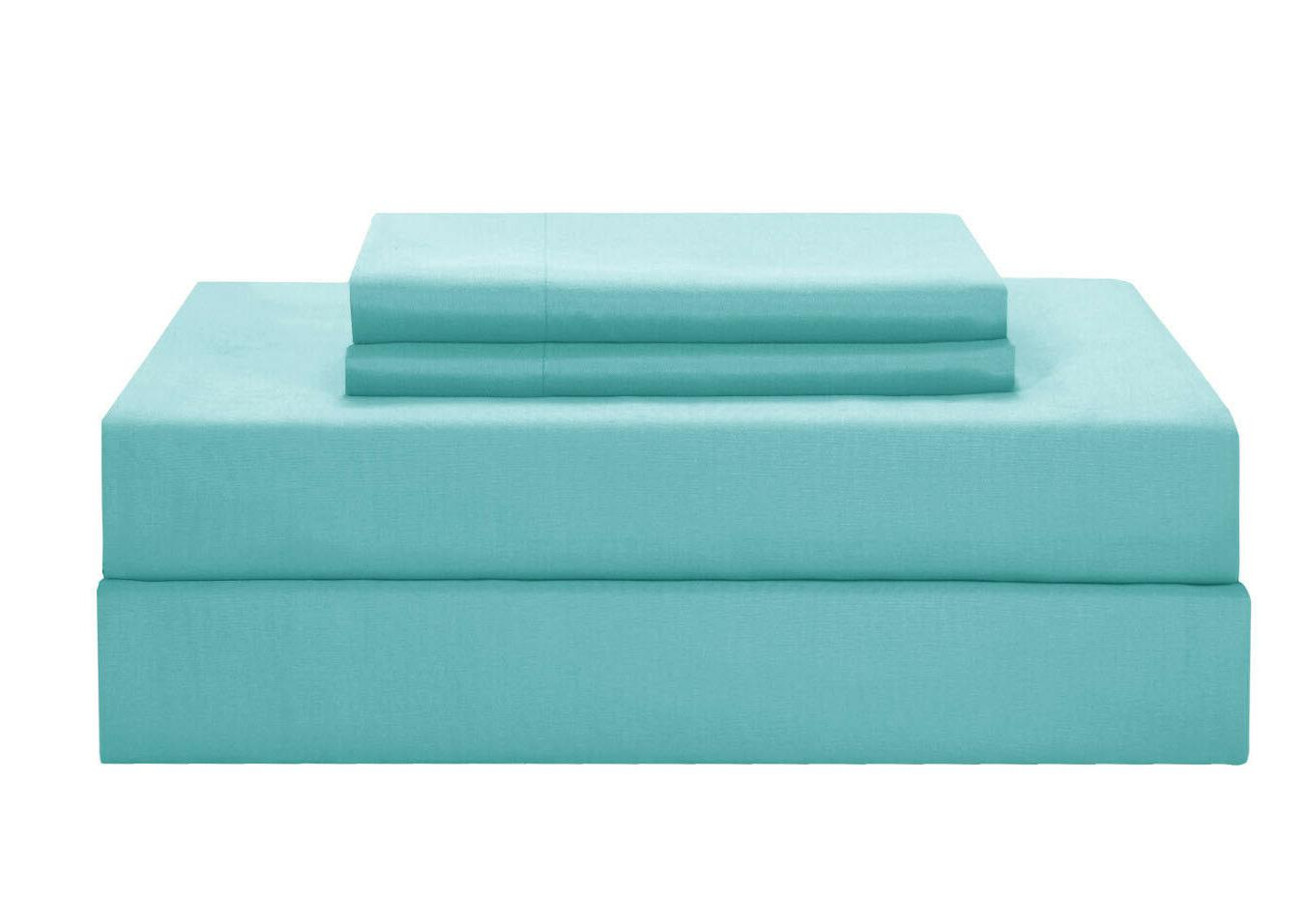 TURQUOISE COMFORTER in Bag Bedding Pillowcase Queen Size