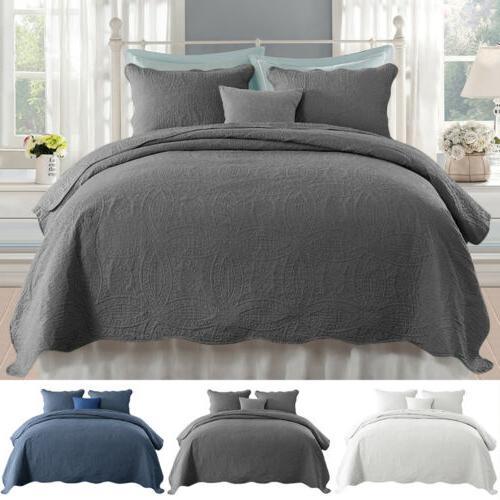 ultra soft quilt and sham bedding set
