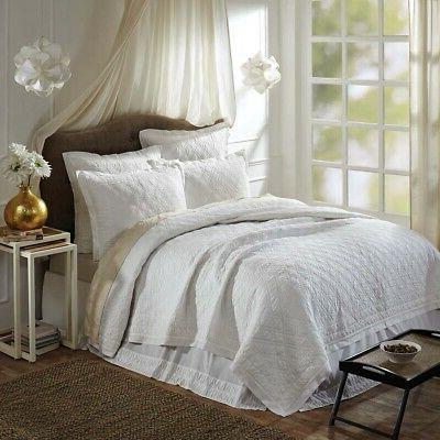 vhc farmhouse quilt blanket bedspread queen king