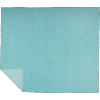 VHC King Queen Blanket Turquoise or Orange