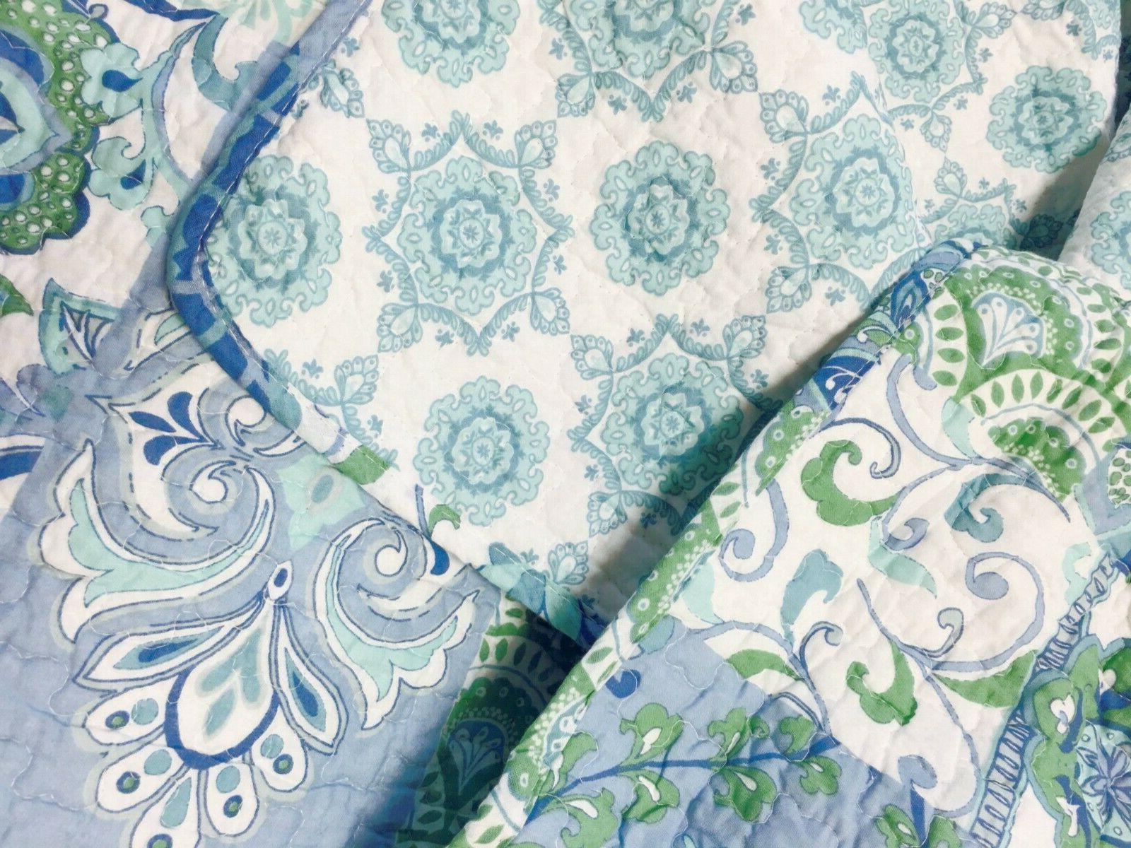 Windfall Reversible Quilt Set, Coverlet