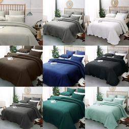 Luxury Bedspread Coverlet 3 Pcs Set Oversize Queen or King S