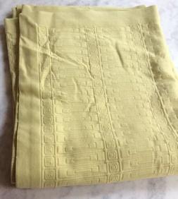 Macy's Style & Co. Nova Stripe Twin Green Citron Bedspread C