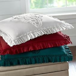 BrylaneHome Madison Flounce Chenille Bedspread