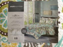 Madison Park 100% Cotton 3-Piece Quilt Set, Bedspread, Cover