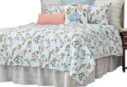C&F Home Marianne Quilt, King, Blue