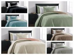 Chezmoi Collection Mesa 3-piece Oversized Reversible Coverle