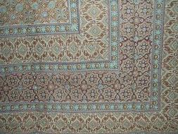 "Moroccan Foulard Tapestry Cotton Bedspread 108"" x 88"" Full-Q"