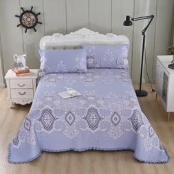 Multi Color Printed Twin Queen size 3Pcs <font><b>Bedspread<