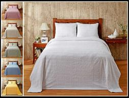 Better Trends Natick 100% Cotton Tufted Chenille Bedspreads