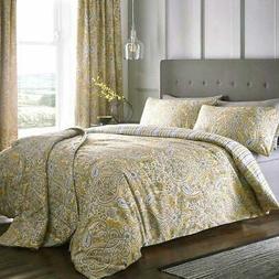 Ochre Duvet Covers Maduri Paisley Print Quilt Sets Luxury Be