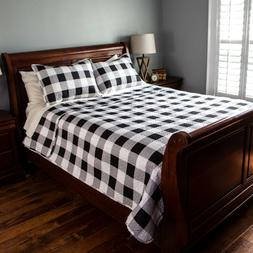 Pinsonic Quilt Set- Buffalo Check Design