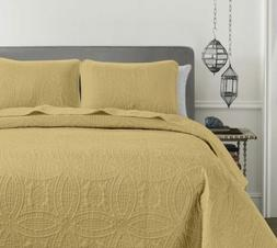 pinsonic quilted austin oversize bedspread coverlet 3