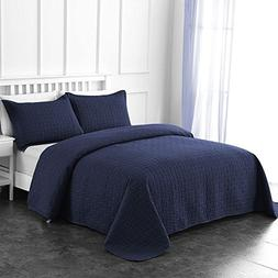 Comfy Basics Prime Bedding Manchester 3-piece Oversized Quil