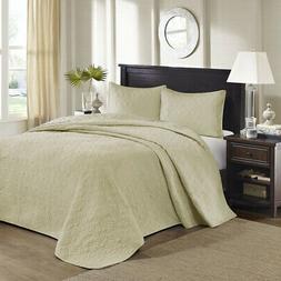 Madison Park Quebec Reversible Bedspread Set