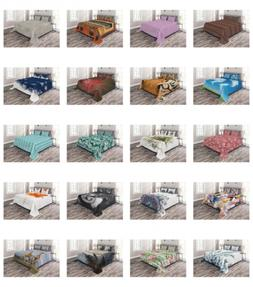 Quilted Bed Cover Decorative Bedspread Coverlet Set with Sha