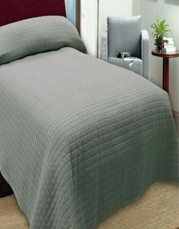 Quilted Microfiber Bedspreads - Twin Size - Extremely Durabl