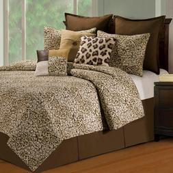 Sabi Sands Animal Print 3 Pc.Full/Queen Quilt Set Cotton Qui