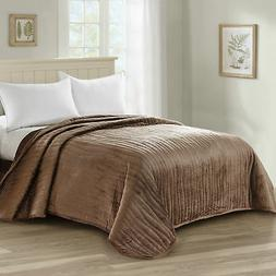 Home Soft Things Serenta Microplush Quilted Bed Spread Cover
