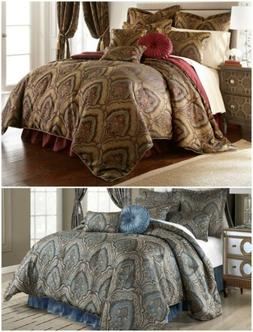 Chezmoi Collection Seville 9-piece Jacquard Paisley Oversize