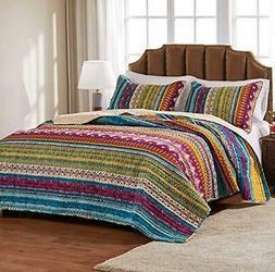 size california bedding southwest quilt set 3pc