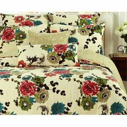 Spring Country 3 Piece Reversible Quilt Set by Tache Home Fa