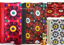 Tribal Asian Textiles Handmade Cotton Suzani Print Twin Size