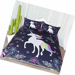 ARIGHTEX Unicorn Bedding Full Unicorn Bedspread for Tenn Boy