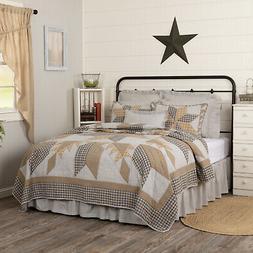 vhc farmhouse quilt dakota star farmhouse blue