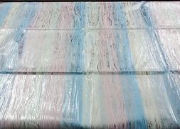 vintage 1980s piombo stripe foil pastel 6