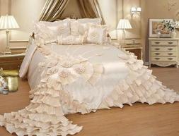 wedding bedding comforter bedspread set or bed